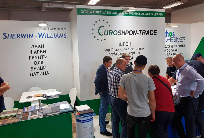 Results of participation in the XXI international exhibition Woodworking