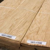 Sliced veneer Pear european