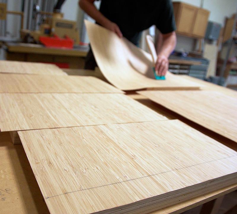 Облицовка шпоном — шпонирование деревянных поверхностей